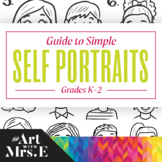 Simple Self-Portrait Drawing Guide | Grades K-2