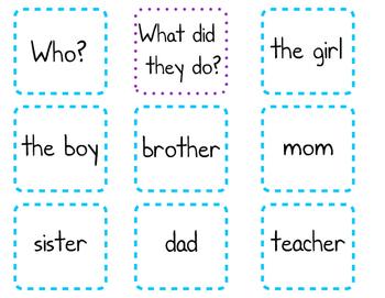 Simple Sentence Builder