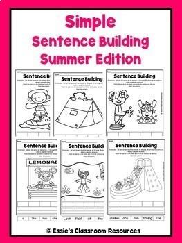 Simple Sentence Building-BUNDLE