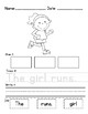 Simple Sentence Building Worksheets