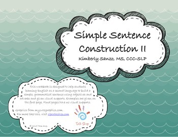 Simple Sentence Construction II