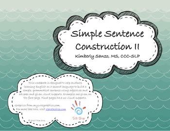 Simple Sentence Construction II