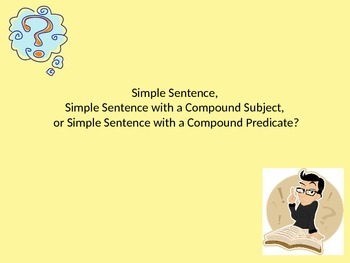 Simple Sentence Review