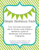 Simple Sentence Review Pack
