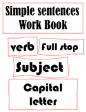 Simple Sentence Structure lesson and and practice work pack