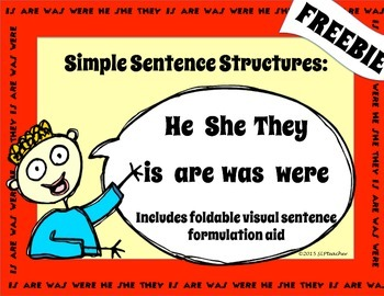Simple Sentence Structures