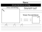 Simple Sentence Writing