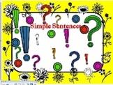 Simple Sentences-SmartBoard