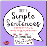 Simple Sentences #2 Books for Early Language Learners