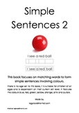 Simple Sentences 2 (Special Needs, Reading, Autism, Early Years)