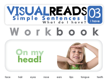 Simple Sentences I. 03 I have (body parts). Reading Book+Workbook+Flashcards