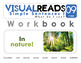 Simple Sentences I. 09 I see (around nature). Reading Book+Workbook+Flashcards