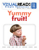 Simple Sentences I. 11 I eat (fruit). Reading Book+Workbook+Flashcards
