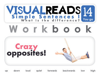 Simple Sentences I. 14 You go (prepositions). Reading Book+Workbook+Flashcards