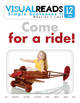 Simple Sentences II. 12 I ride (transportation) Reading Book+Workbook+Flashcards