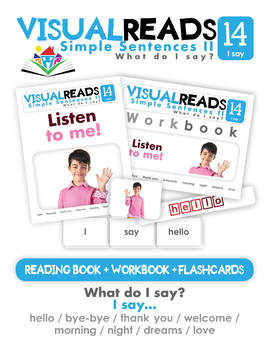 Simple Sentences II. 14 I say (manners). Reading Book+Workbook+Flashcards