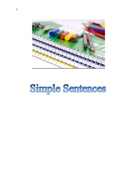 Simple Sentences Made Easy