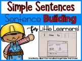 Simple Sentences {Sentence Building For Little Learners!}
