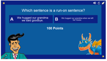 Simple Sentences Smart Lab Interactive Whiteboard Activities
