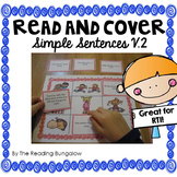 Simple Sentences Read and Cover {More Challenging!}