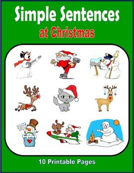 Simple Sentences at Christmas