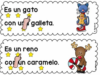 Simple Sentences for Guided Reading in Spanish DECEMBER Lectura guiada