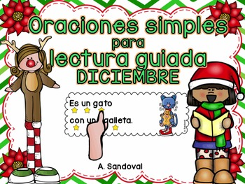 Simple Sentences for Guided Reading in Spanish DECEMBER