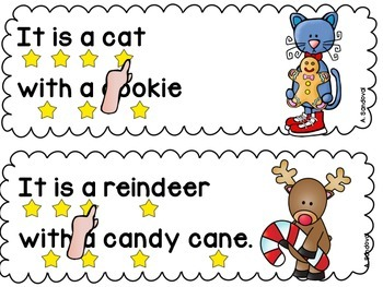 Simple Sentences for Guided Reading in ENGLISH DECEMBER