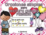 Simple Sentences for Guided Reading in Spanish FEBRUARY Lectura guiada