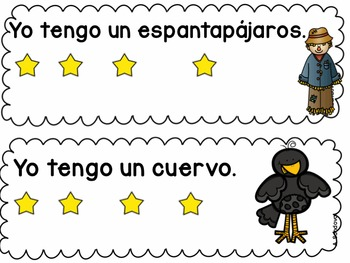 Simple Sentences for Guided Reading in Spanish-OCTOBER Lectura guiada