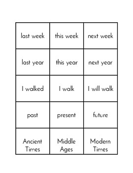 Simple Sequencing Activity (Language)