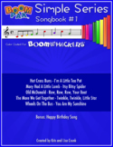 Boomwhackers® Sheet Music - Simple Series #1 – Boomwhacker® Pak (10 Songs)