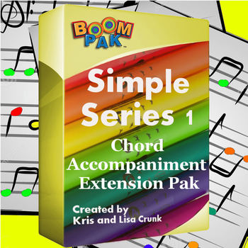 Boomwhackers® Sheet Music - Simple Series #1 Chord Accompaniment Pak (10 songs)*