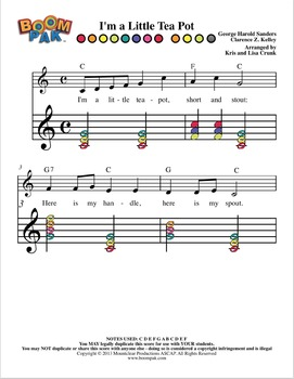 Boomwhackers® Sheet Music - Simple Series MEGA Pak (over 95 Pages of materials!)
