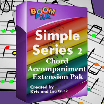 Boomwhackers® Sheet Music - Simple Series #2 Chord Accompaniment
