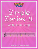 Boomwhackers® Sheet Music - Simple Series 4 – 10 Sunday School Songs –