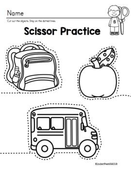 Simple Shape Mobile Project and Scissor Practice