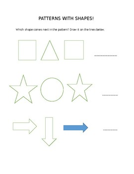 Simple Shape Patterns