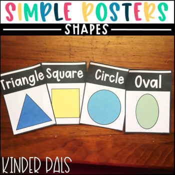 Shape Posters-Plain and Simple
