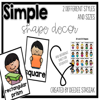 Simple Shape Posters