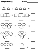 Simple Shapes Counting and Adding