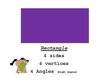 Simple Shapes Description Mini Posters
