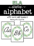 Simple Shiplap Alphabet
