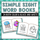 Simple Sight Word Books