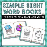 Simple Sight Word Books