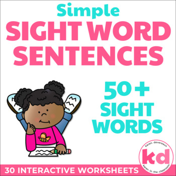 Simple Sight Word Sentences