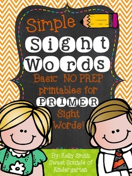Sight Words {Primer Printables}