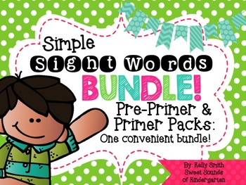 Sight Words {Pre-Primer & Primer Bundle}