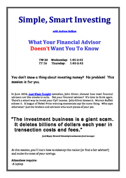 Simple, Smart Investing with Andrew Hallam