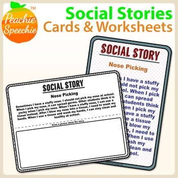 Simple Social Behavior Narratives for School